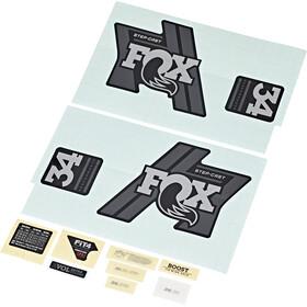 Fox Racing Shox Decal Kit for 34 SC P-S, nero